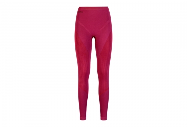 sous pantalon femme odlo evolution warm rose l