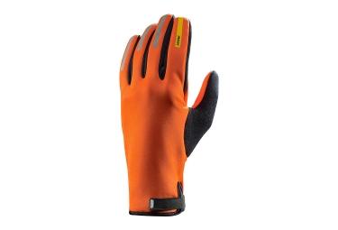paire de gants hiver mavic aksium thermo orange 2017 xs