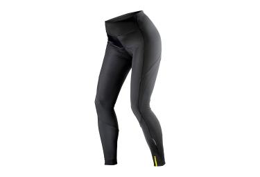 cuissard long femme sans bretelles mavic aksium thermo noir 2017 l
