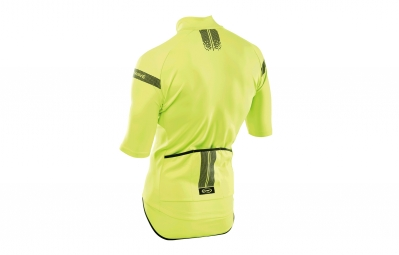 veste thermique manches courtes northwave extreme h2o jaune fluo xxl