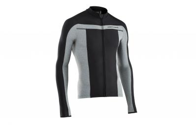 maillot thermique manches longues northwave celsius noir gris s