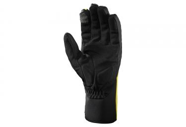 gants hiver mavic vision thermo noir jaune xs
