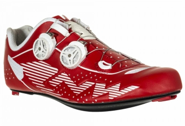 chaussures route northwave evolution plus rouge blanc 42
