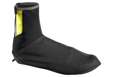 Couvre chaussures mavic vision noir jaune 36 38