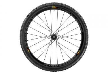 roue arriere mavic 2017 crossmax pro carbon wts 29 12x142 mm corps shimano sram pneu pulse 2 25