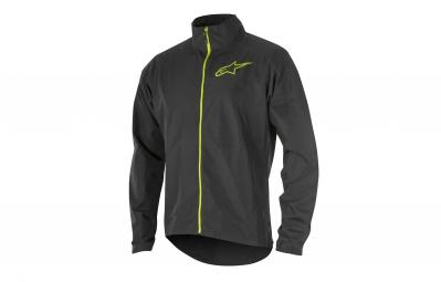 veste coupe vent alpinestars descender 2 noir jaune s