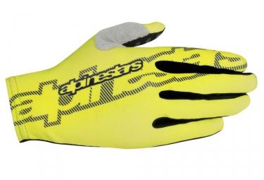 Alpinestars paire de gants f lite jaune m