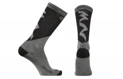 chaussettes hiver northwave extreme pro gris noir 40 43