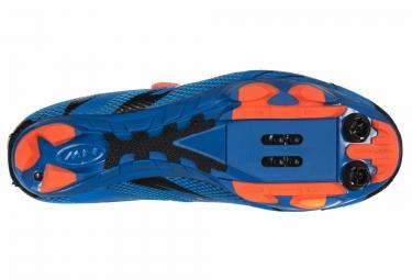 chaussures vtt northwave scorpius 2 plus bleu orange 44