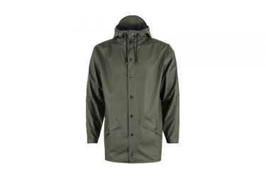 veste rains jacket vert s m