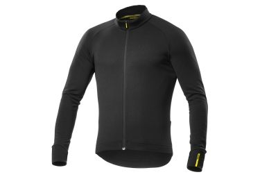 maillot manches longues mavic aksium thermo noir xxl
