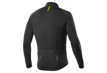 maillot manches longues mavic aksium thermo noir s
