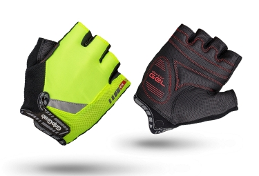 Gripgrab gants courts progel jaune fluo xl