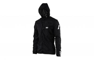 veste impermeable 100 aero tech windbreaker noir xl