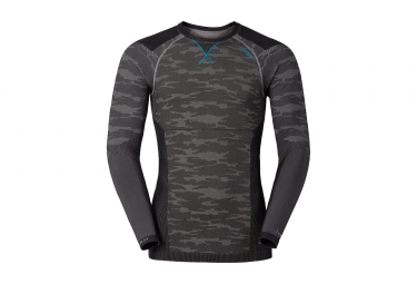 sous maillot odlo blackcomb evolution warm gris noir xl