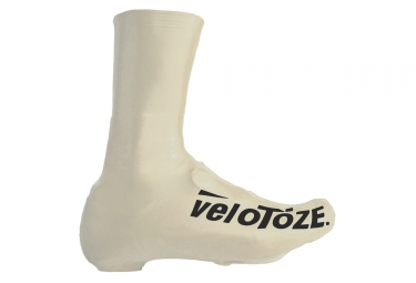 couvres chaussures hautes velotoze tall latex blanc 40 42