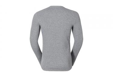 sous maillot odlo warm gris m