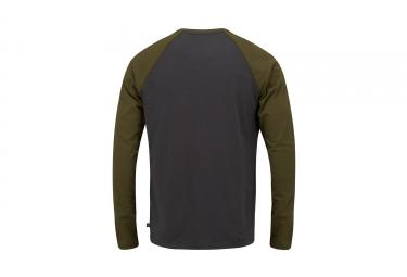 T-Shirt Manches Longues ANIMAL MONO Gris Vert