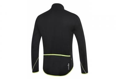 veste thermique zero rh prime noir jaune m