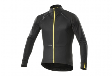 maillot manches longues mavic cosmic pro wind noir s