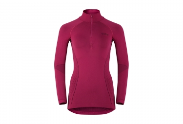 ODLO Damen Long Sleeves BaseLayer EVOLUTION WARM Pink
