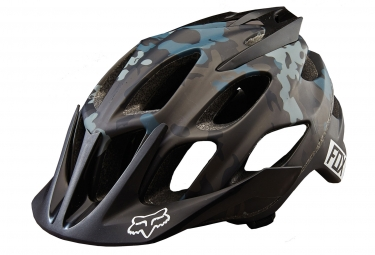Casco FOX FLUX - Negro Camo 2016