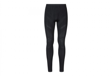 sous pantalon de compression odlo muscle force evolution warm noir gris s
