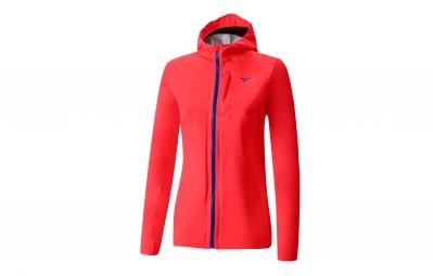 veste coupe vent impermeable femme mizuno waterproof 20k rose xs