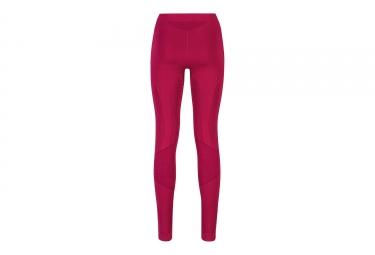 sous pantalon de compression femme odlo muscle force evolution warm rose m