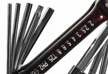 Multi-Outils 10 Fonctions NEATT EXTRA-FLAT Rouge
