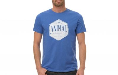 T-Shirt ANIMAL KERN Bleu