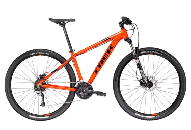 vtt semi rigide trek 2017 marlin 7 27 5 shimano altus 9v orange 13 5 pouces 147 154 cm