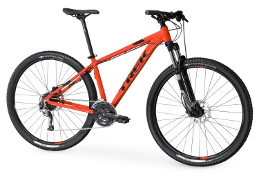 vtt semi rigide trek 2017 marlin 7 27 5 shimano altus 9v orange 15 5 pouces 153 162