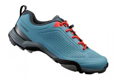 Chaussures vtt shimano mt300 bleu 42