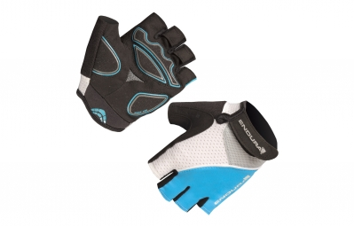 ENDURA Gloves XTRACT Blue White Women