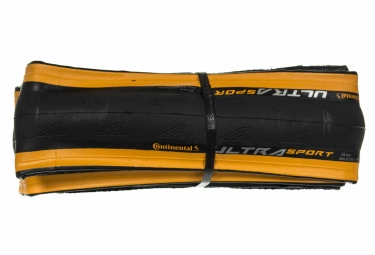 Continental Ultra Sport II Road Tyre - Orange
