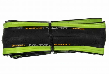 Pneu continental ultra sport 2 souple vert 23 mm