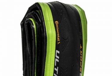 pneu continental ultra sport 2 souple vert 25 mm