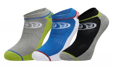 x3 Paires de Chaussettes ANIMAL FINITEY Multi-Couleur