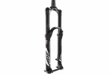 rockshox 2017 fourche pike rct3 26 axe 15 mm solo air conique noir 160