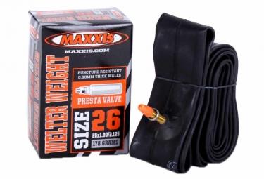 MAXXIS Chambre à Air Welter Weight 26 x 1.90/2.125' Valve Presta