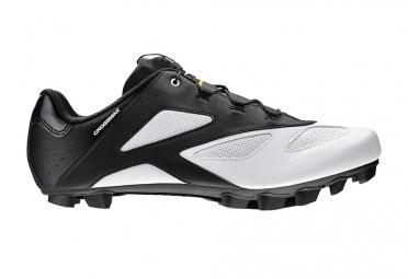 Paire de Chaussures VTT MAVIC Crossmax Noir/Blanc