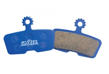 a2z paire de plaquettes avid elixir trail x0 trail et sram guide r rs rsc metallique az 293