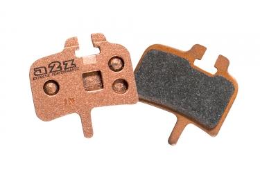 a2z paire de plaquettes avid juicy metalliques