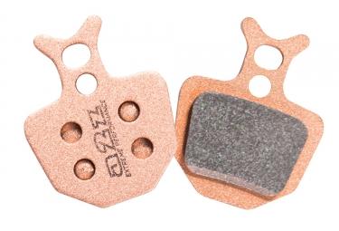 A2z paire de plaquettes formula oro metalliques