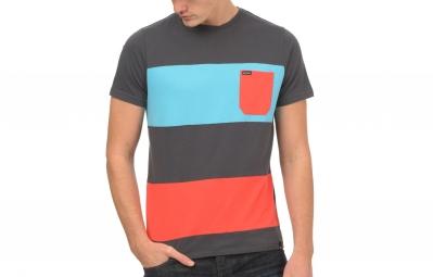 T-Shirt ANIMAL BRAUDE Gris