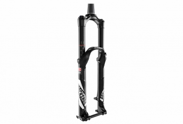 rockshox 2017 fourche pike rct3 27 5 axe 15 mm dual position air 130 160 conique noi