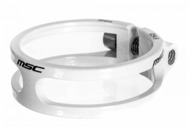 msc collier de selle ecrou light 8 5 gr cnc ti blanc 34 9