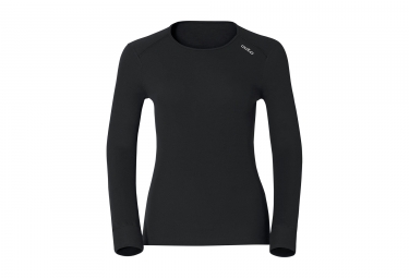 ODLO Women Long Sleeves BaseLayer WARM Black