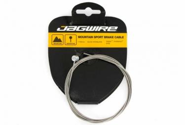 jagwire cable de frein vtt acier inoxydable 1 5x1700mm